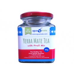 Aguamate Premium yerba mate with fruits