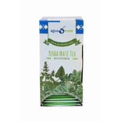 AGUAMATE, Yerba Mate tea bag with peppermint
