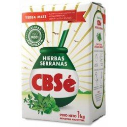 CBSe Yerba Mate with Mountain Herbs