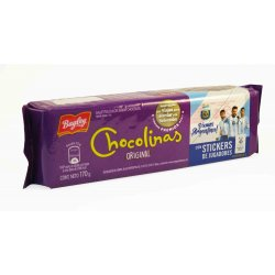 Galletitas chocolinas 170 gr