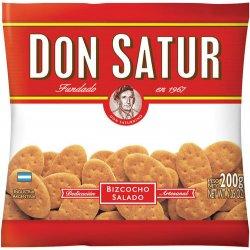 Bizcocho Don Satur salt 200g