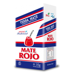 Mate Rojo Traditional 1KG